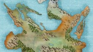 Map of the Tamarran Continent thumbnail